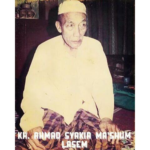 Biografi KH. Ahmad Syakir Ma'shum