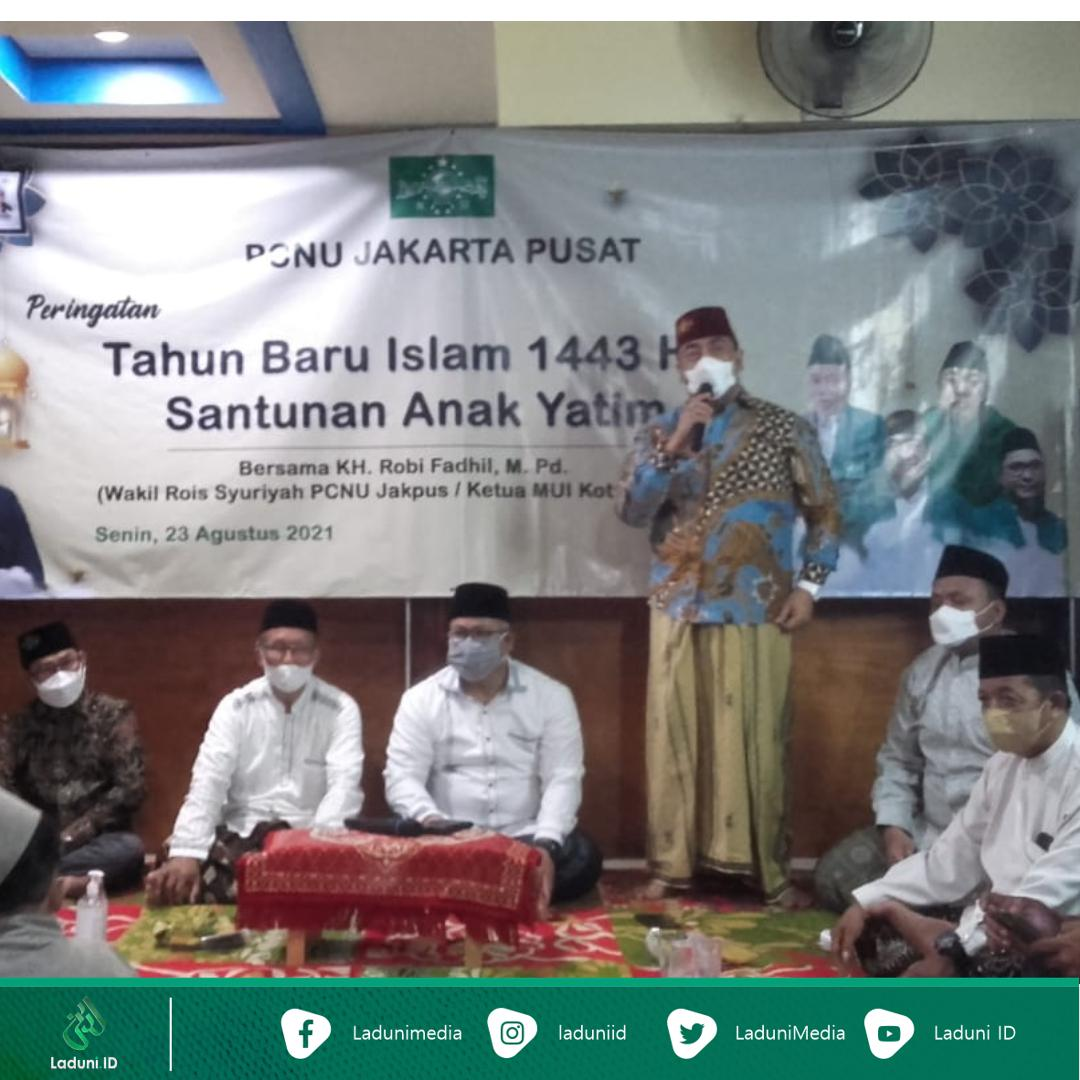 Ketua PCNU Jakarta Pusat: Nabi Bersama Orang yang Menyantuni Anak Yatim
