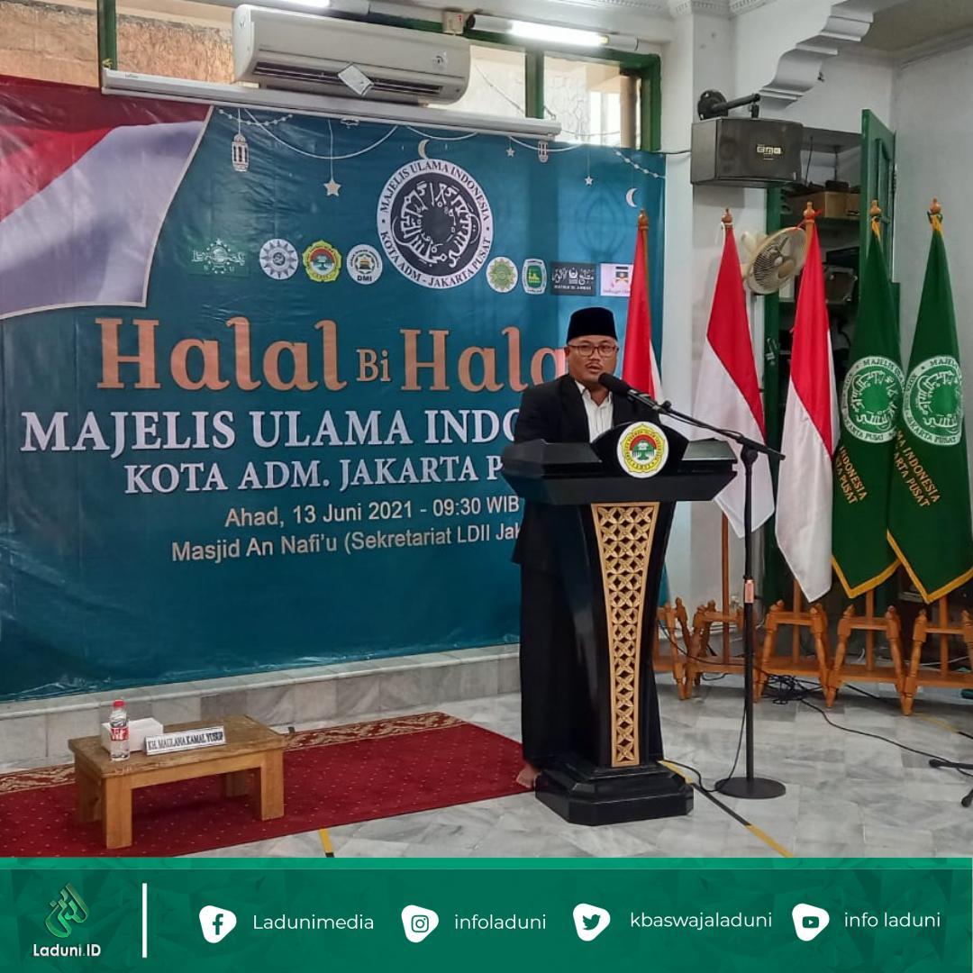 Gelar Halal bi Halal, Ketua Umum MUI Jakpus Ingatkan Pentingnya Peran Ulama di Tengah Umat