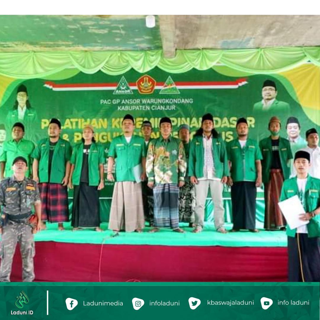 Hari Jadi Cianjur Ke-344, GP Ansor Ajak Kader Perangi Covid-19