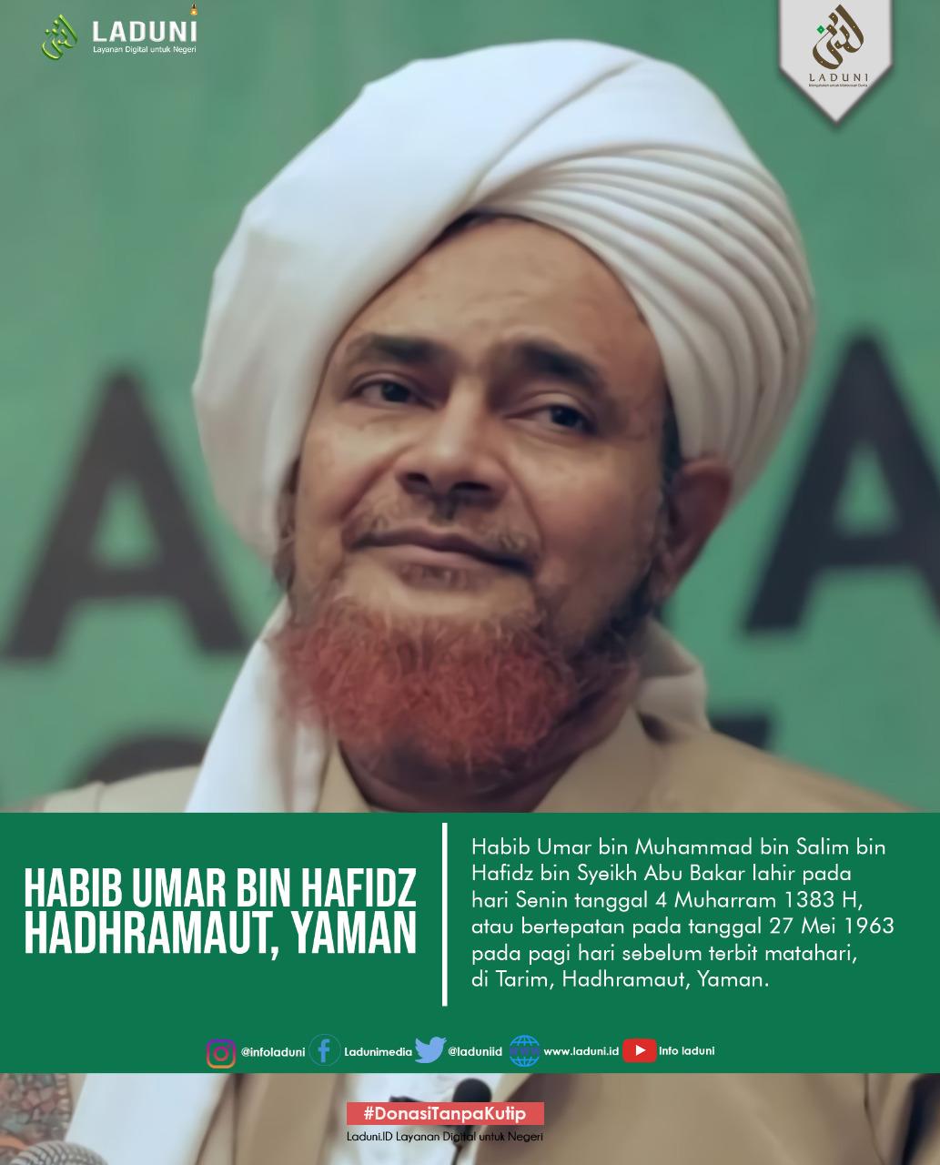 Biografi Habib Umar bin Muhammad bin Salim bin Hafidz