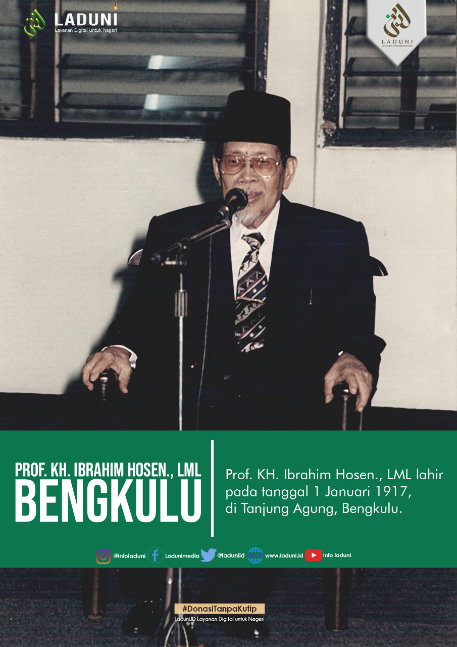 Biografi Prof. KH. Ibrahim Hosen., LML