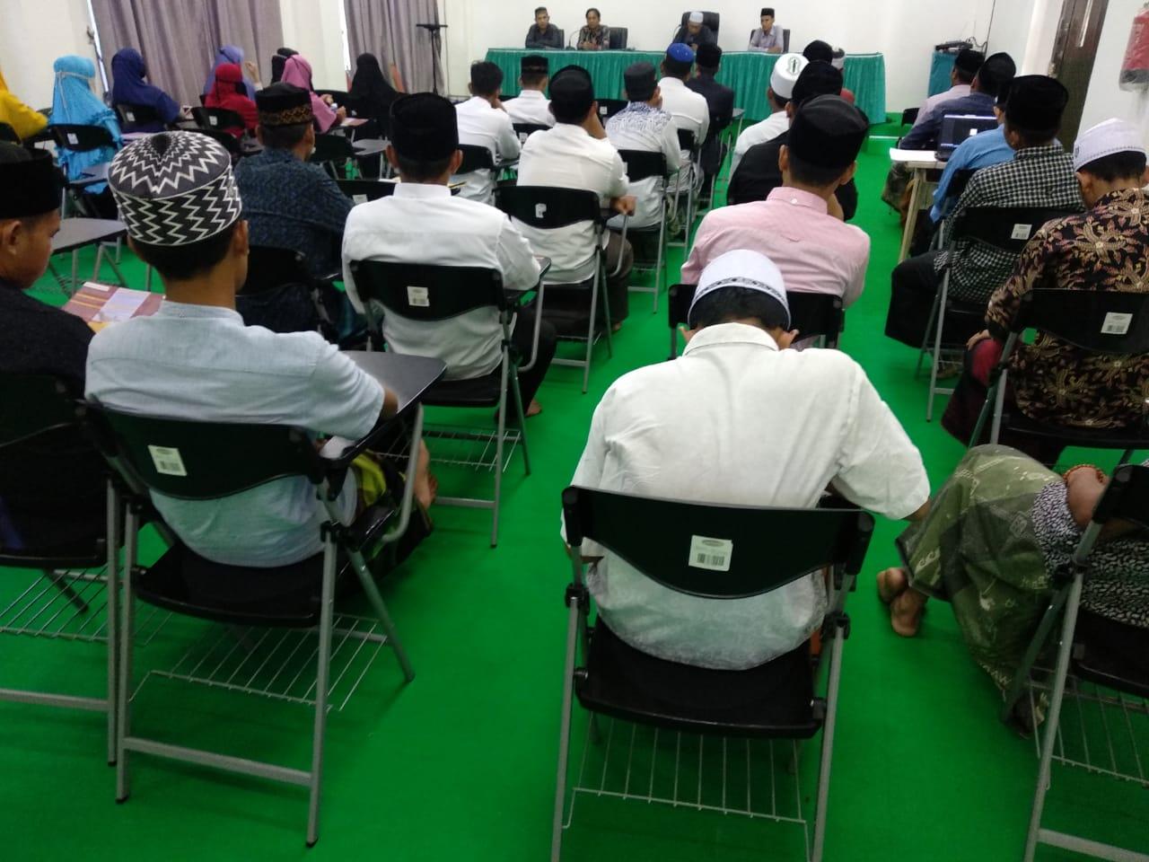 Antusiasnya Peserta Mengikuti Sosialisasi Program Pascasarjana UIN Ar-Raniry Banda Aceh di IAIA
