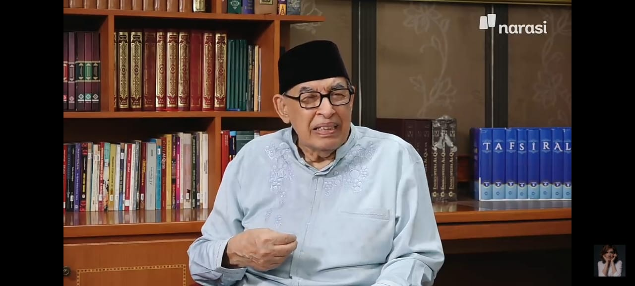 Pesan Prof. Quraish Shihab kepada putrinya Najwa Shihab