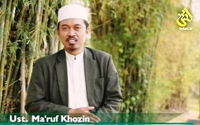 Ustadz Ma'ruf Khozin: Ngaji Bab Nikah untuk Bekal Pernikahan